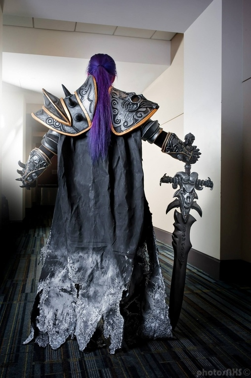 Female Lich King Homemade Costume