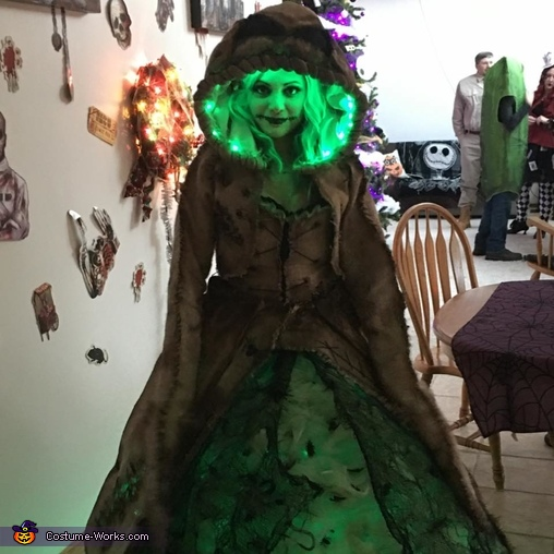 Female Oogie Boogie Homemade Costume