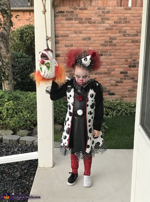 Halloween Costume 4 5.Female Pennywise Girl S Halloween Costume Photo 4 5