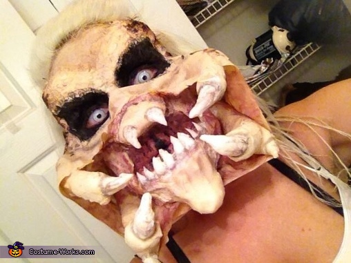 Front close up, Female Predator Costume