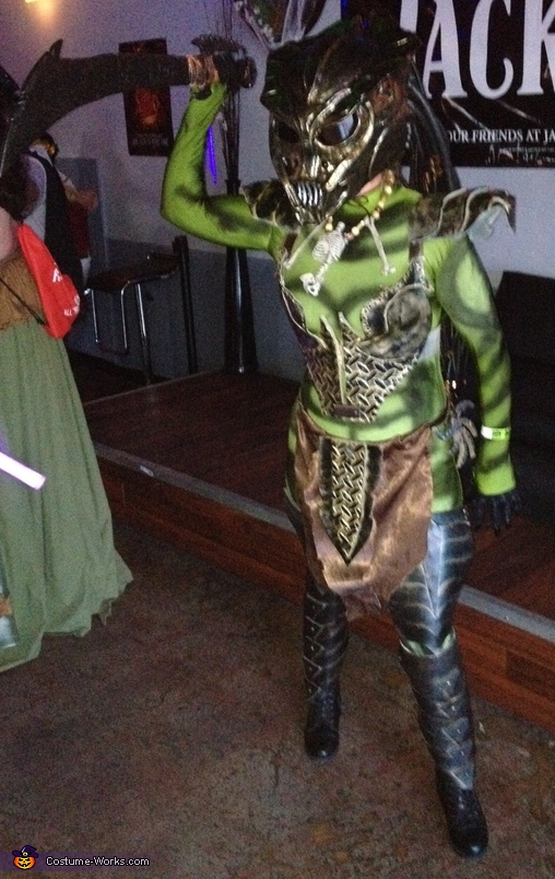 Female Predator Homemade Costume