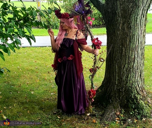 Visiting old friends, Feronia, Queen of the Fairies of Change Costume