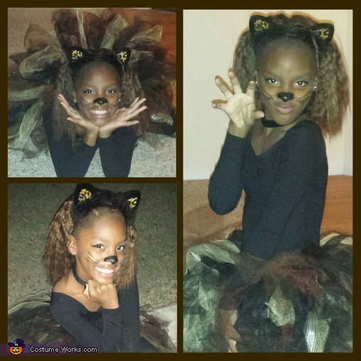Fierce Kitty Homemade Costume