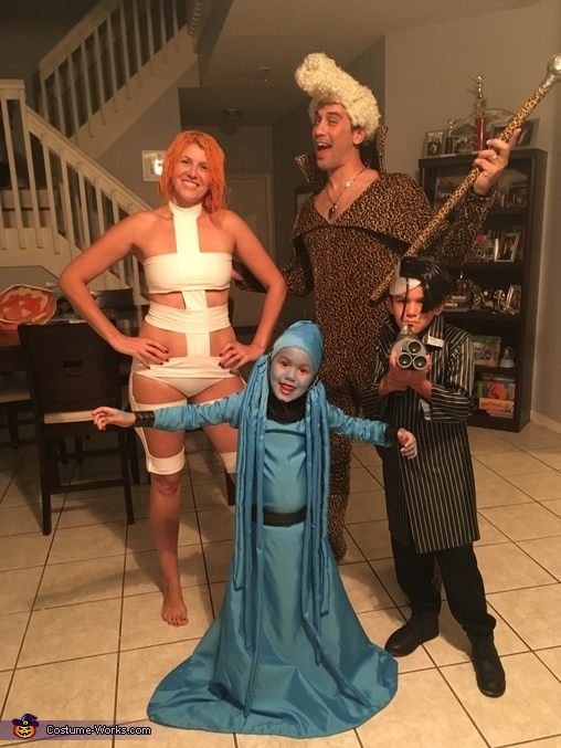 Fifth Element Costume