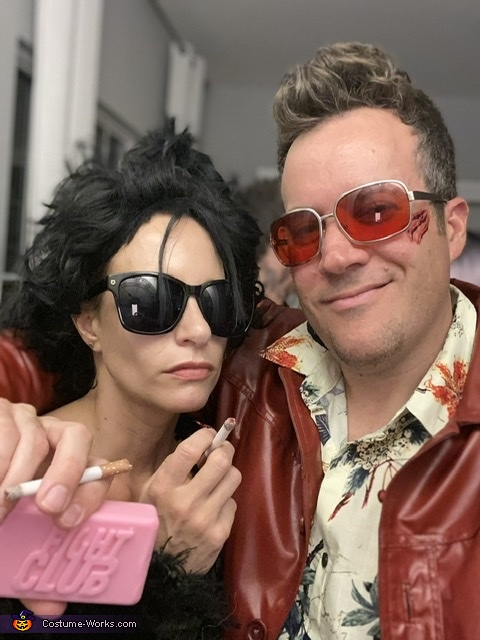 Marla & Tyler, Fight Club: Tyler Durden & Marla Singer Costume