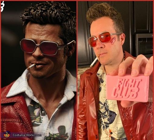 Tyler Durden, Fight Club: Tyler Durden & Marla Singer Costume