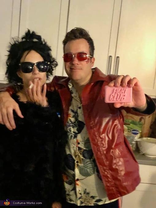Fight Club: Tyler Durden & Marla Singer Costume