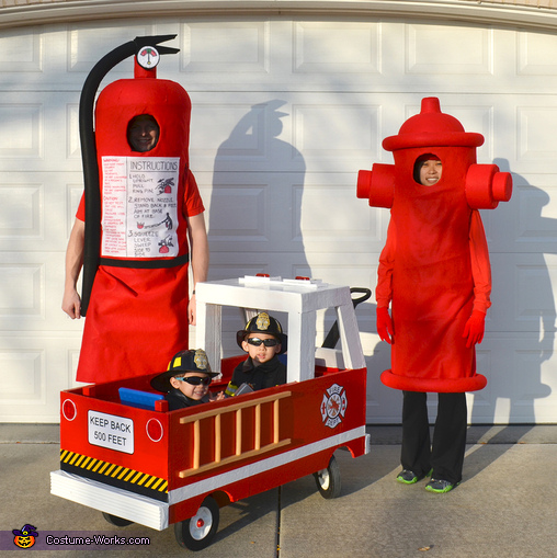 Fight Fire Family Costume