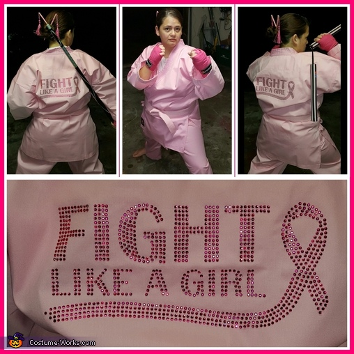 'Fight Like a Girl!', Fight Like a Girl! Costume