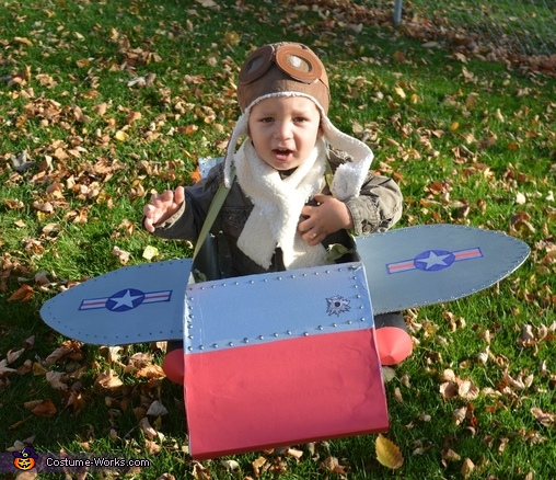 Fighter Pilot coming at ya!, Fighter Pilot Costume