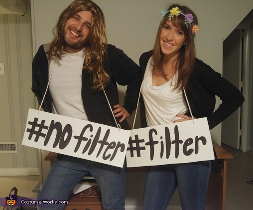 Filter And Nofilter Costume