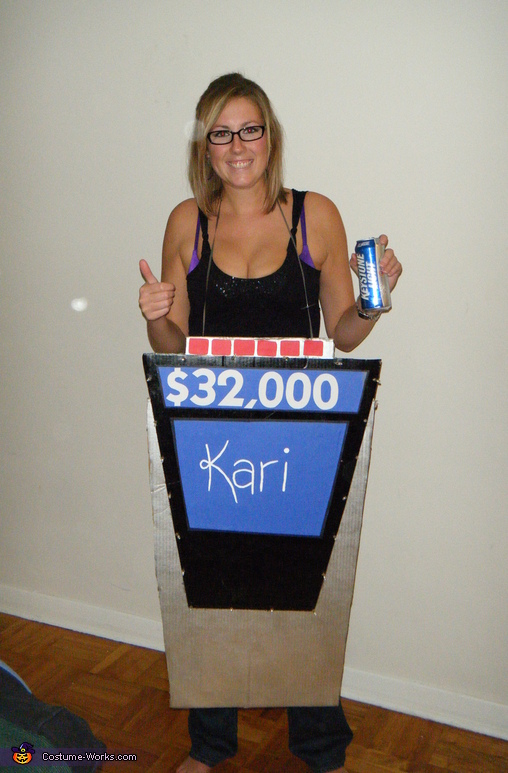 What it looks like in full light, Final Jeopardy Costume
