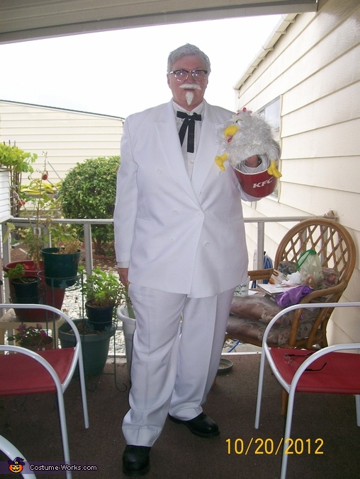 Finger Lickin Good Colonel Sanders Costume