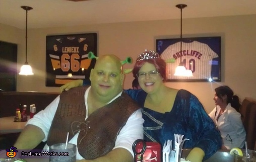 Fiona and Shrek Costume