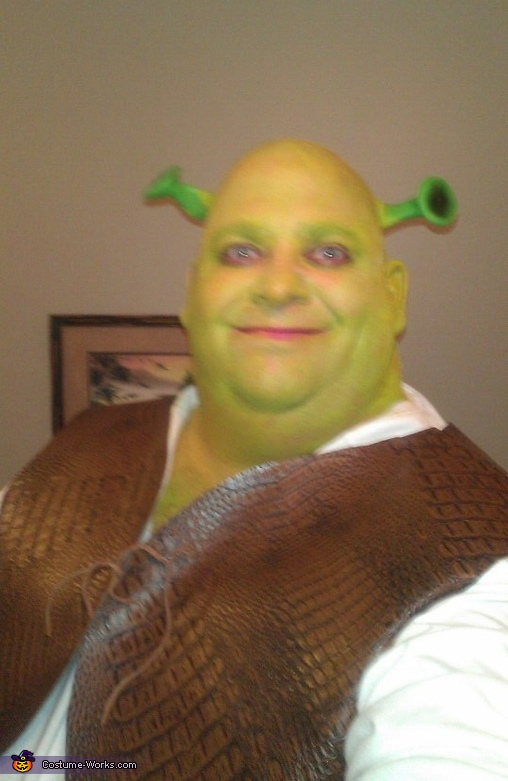 Sherk,  Fiona and Shrek Costume