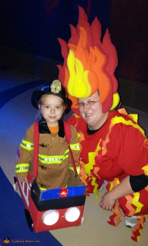Fire and Fireman Costume