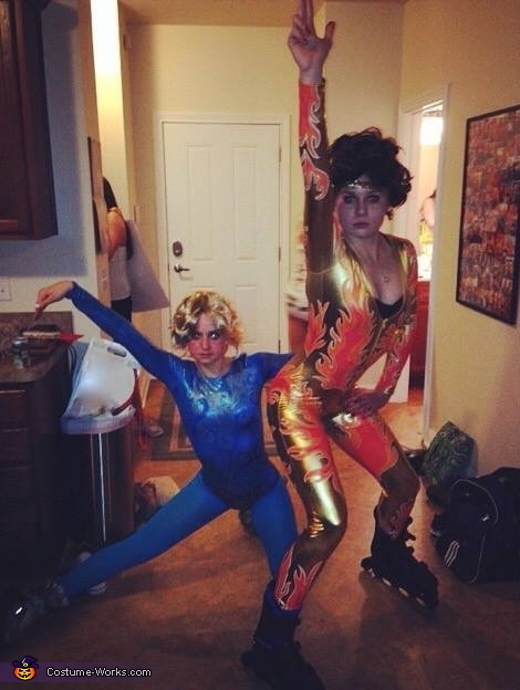 Blades of Glory Fire and Ice Costume