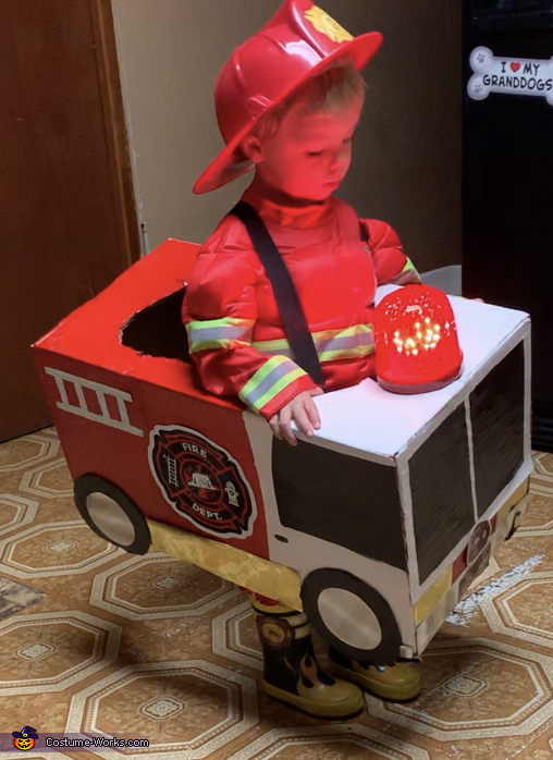 Fire Chief Lucas Costume