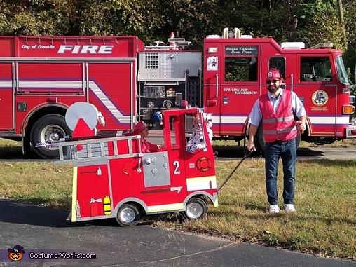 Fire Crew Costume