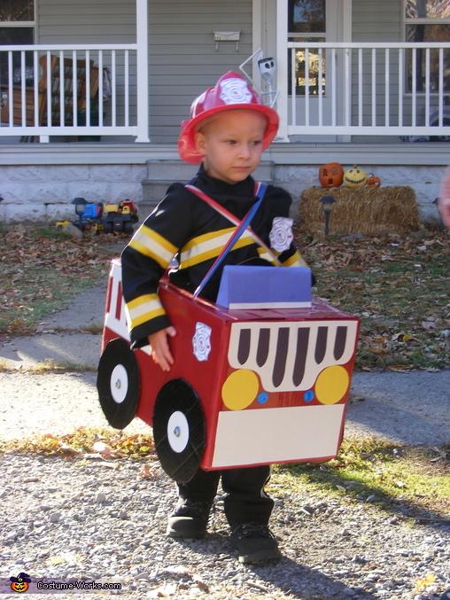 Fire Engine Costume