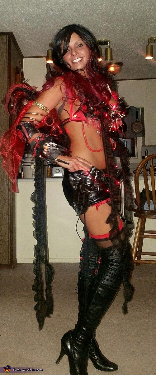 Fire Goddess Homemade Costume