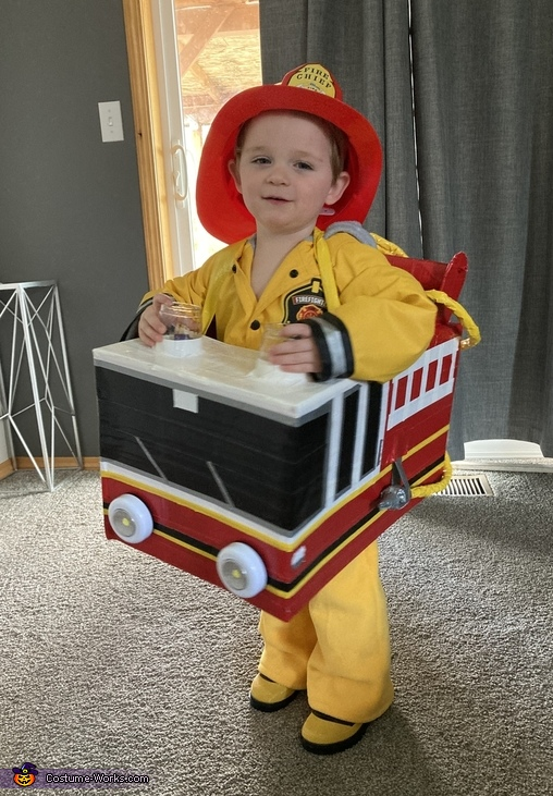 Fire Truck Man Costume