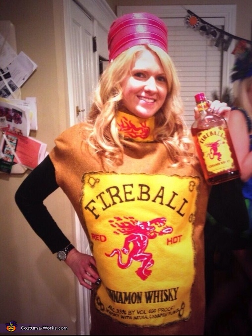 Fireball Whisky Costume