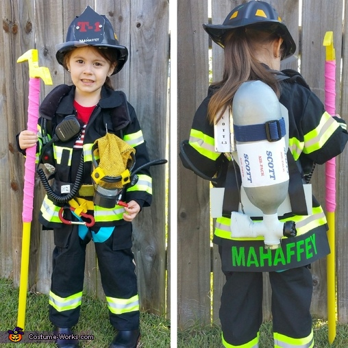 Firefighter Truckie Costume