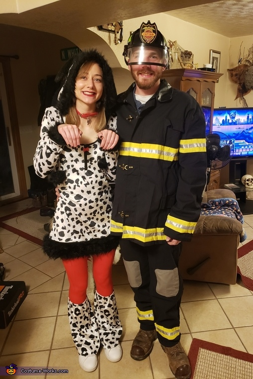 Fireman and Dolmation Costume