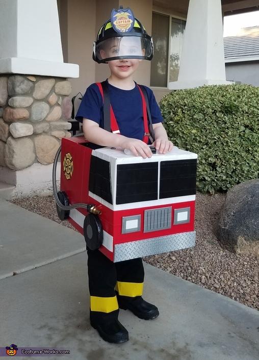Fireman Cooper Costume