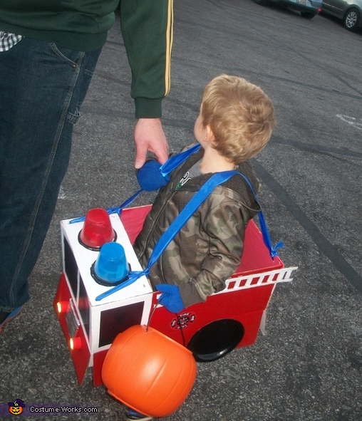 Firetruck to the Rescue Costume