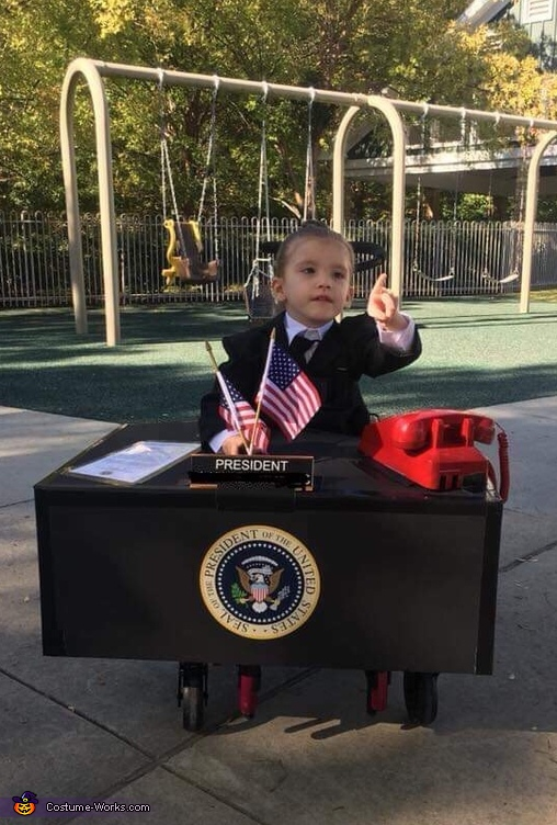 First Lady President of the United States Costume