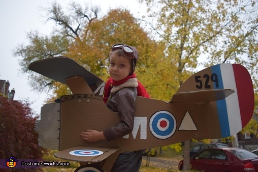 First World War Flying Ace, First World War Flying Ace Costume
