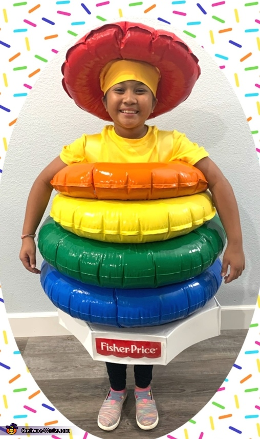 Fisher Price Rock-a-Stack Toy Costume