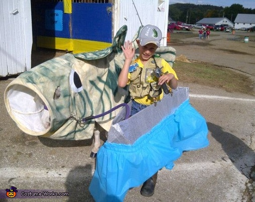 Homemade Fisherman Costume