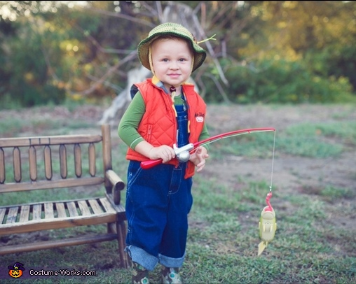 Fisherman, Fisherman and Shark Baby Costume