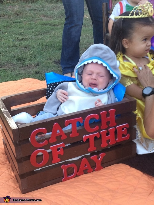 Shark, Fisherman and Shark Baby Costume