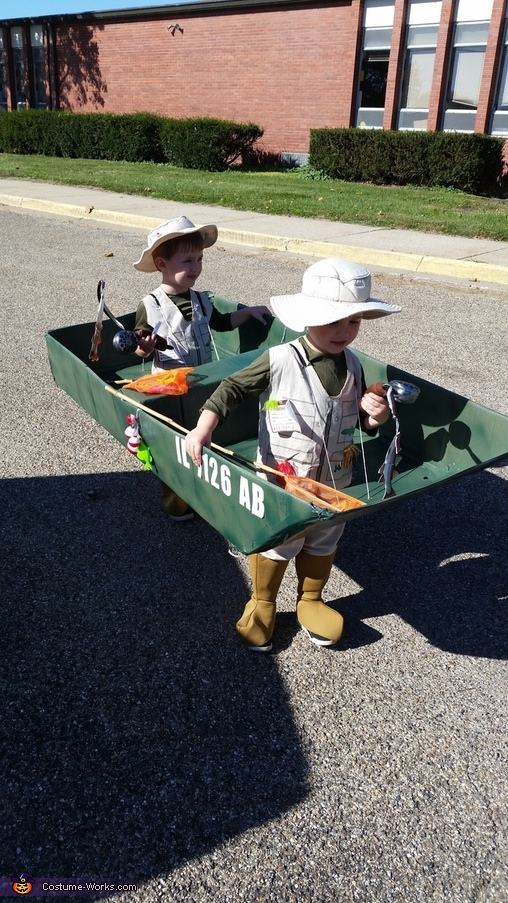 Fishermen Homemade Costume