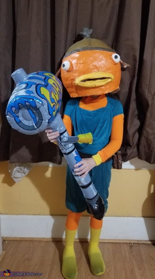 Fishsticks from Fortnite Costume