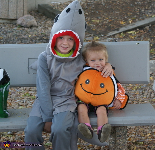 Fishy Family Homemade Costume