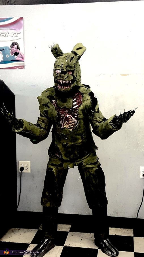 Five Nights At Freddy S Springtrap Costume
