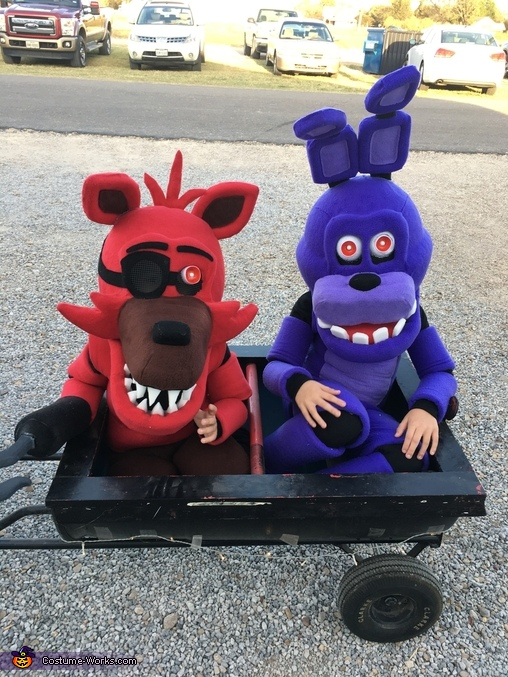 FNAF Bonnie and Foxy, Five Nights at Freddy's Toy Chica, Bonnie and Foxy Costume
