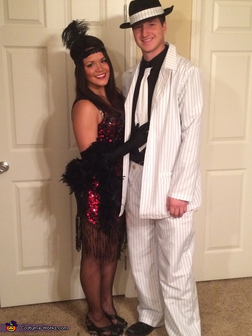costumes Flapper gangster