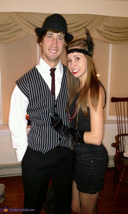Flapper & Gangster Costume