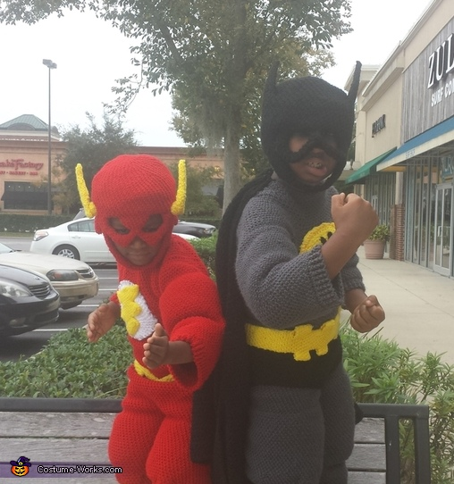 Flash and Batman Costume