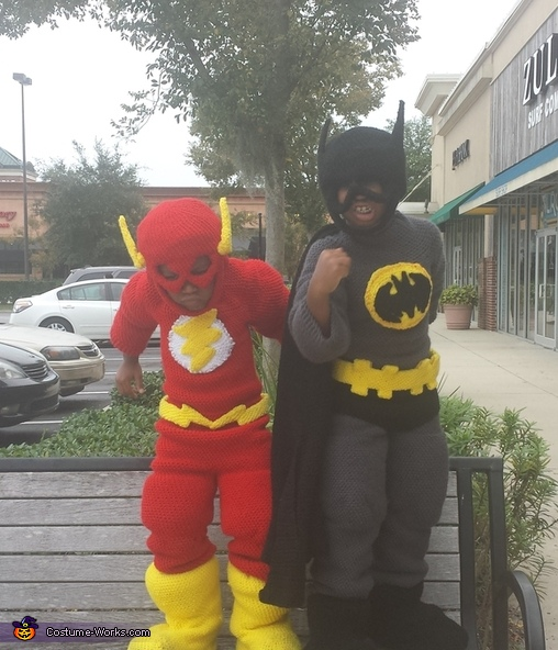 war cry, Flash and Batman Costume