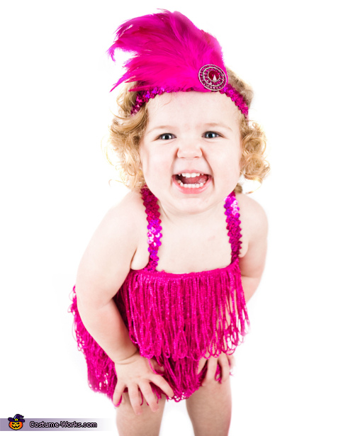 Flashy Flapper Baby Costume