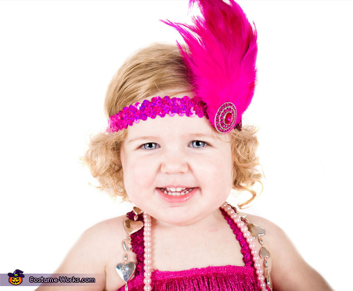 Giggles, Flashy Flapper Baby Costume