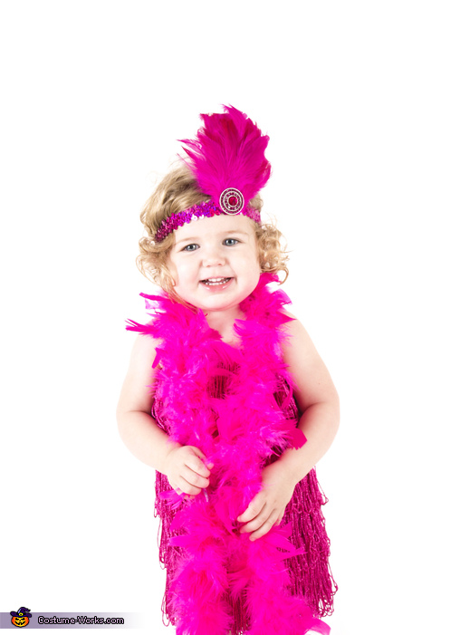 Big grin!, Flashy Flapper Baby Costume