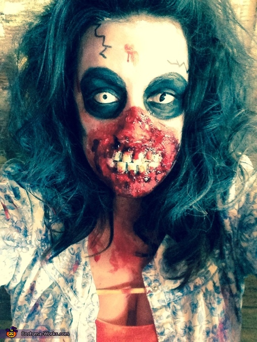 Flesh Eating Zombie Costume